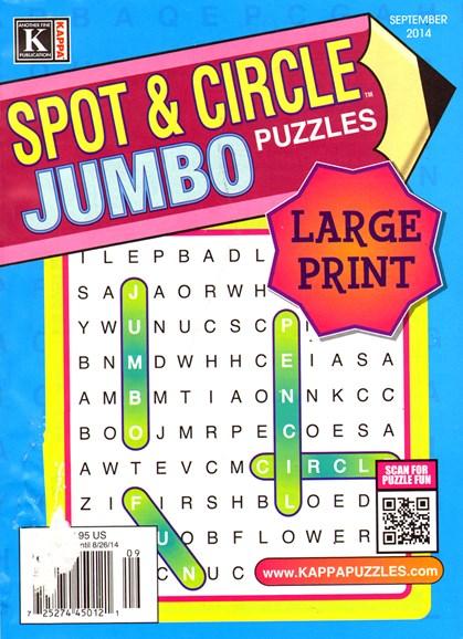 Spot & Circle Jumbo Cover - 9/1/2014