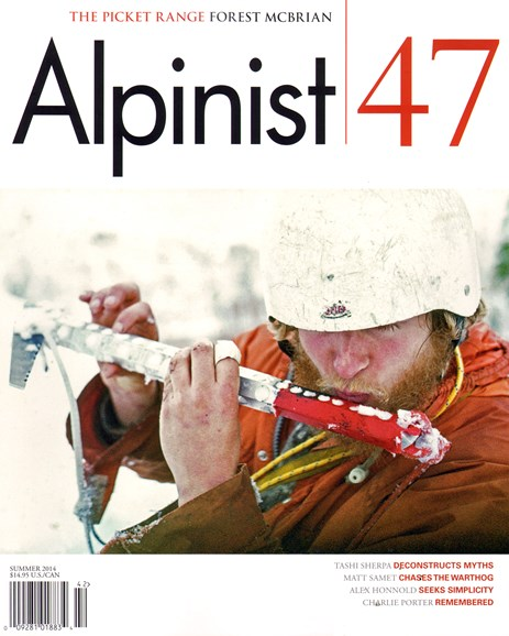 Alpinist Cover - 7/1/2014
