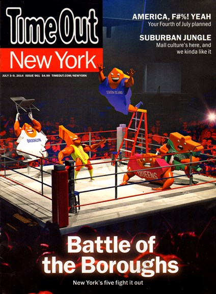 Time Out New York Cover - 7/3/2014