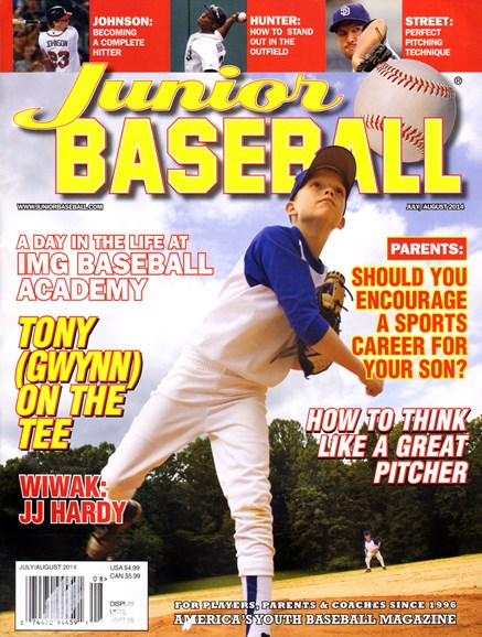 Junior Baseball Cover - 7/1/2014