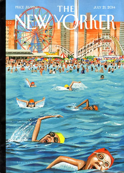 The New Yorker Cover - 7/21/2014