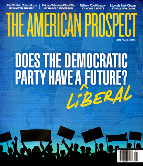 The American Prospect Cover - 7/1/2014