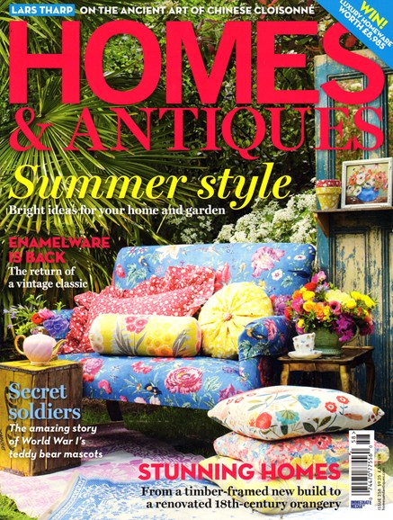 Homes & Antiques Cover - 7/1/2014
