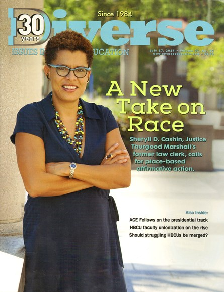 Diverse: Issues In Higher Education Cover - 7/17/2014