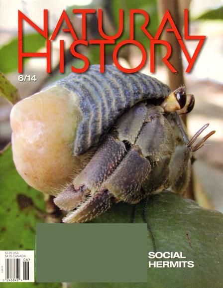 Natural History Cover - 6/1/2014