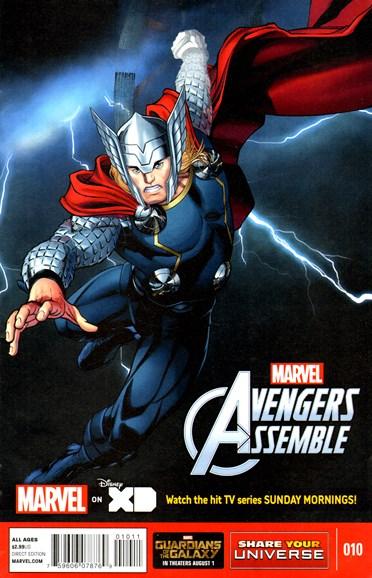 Marvel Universe Avengers Assemble Cover - 9/1/2014