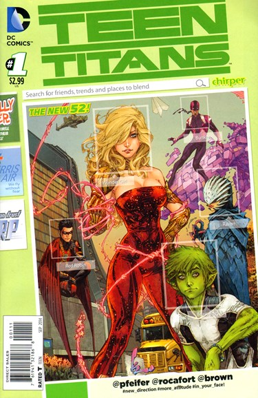 Teen Titans Cover - 9/1/2014