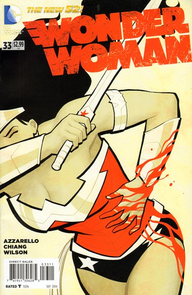 Wonder Woman Cover - 9/1/2014