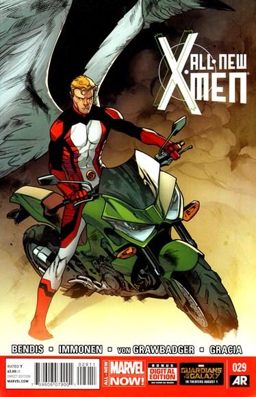 X-Men Blue Cover - 9/1/2014