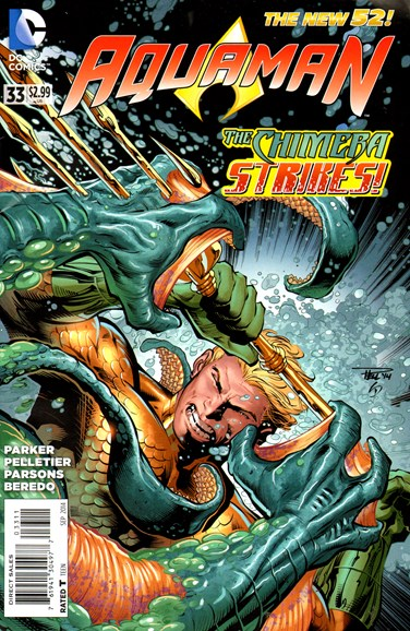 Aquaman Cover - 9/1/2014
