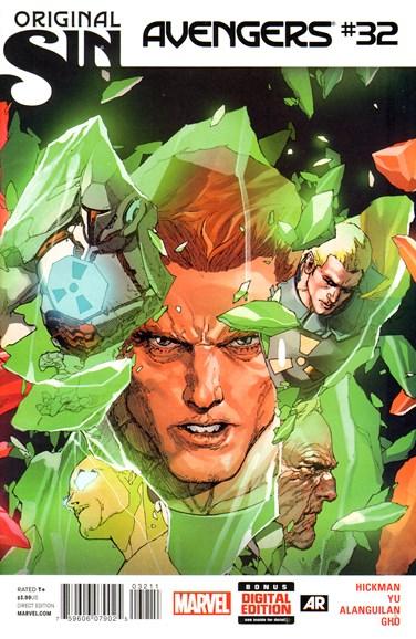 Avengers Cover - 9/1/2014