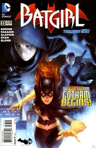 Batgirl Cover - 9/1/2014