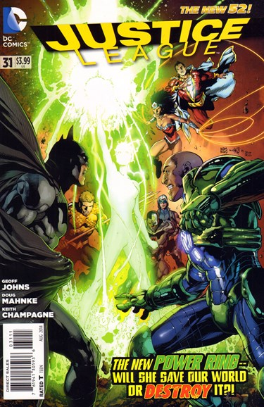 Justice League Cover - 8/1/2014