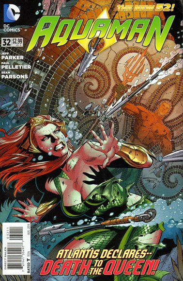 Aquaman Cover - 8/1/2014
