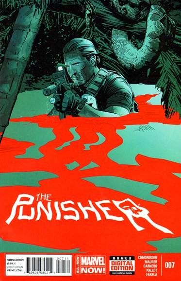 The Punisher Cover - 8/1/2014