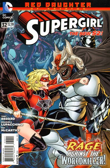Supergirl Cover - 8/1/2014
