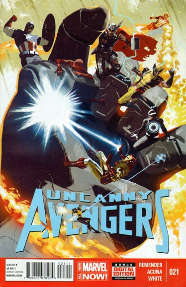 Uncanny Avengers Cover - 8/1/2014