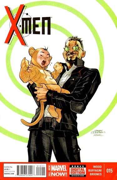 X-Men Gold Cover - 8/1/2014