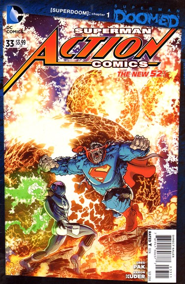 Action Comics Cover - 9/1/2014