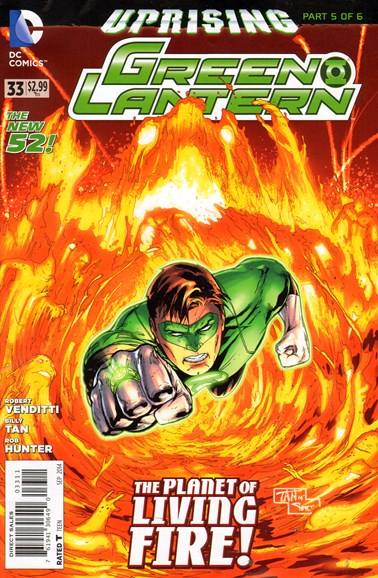 Green Lanterns Cover - 9/1/2014