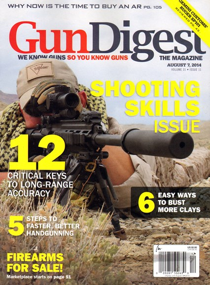 Gun Digest Cover - 8/7/2014