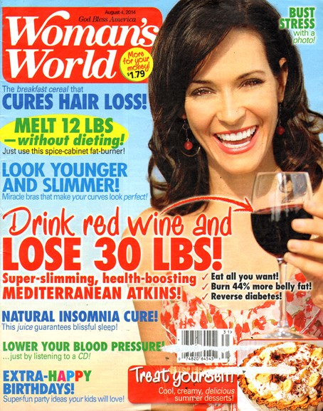 Woman's World Cover - 8/4/2014