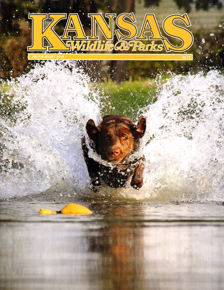 Kansas Wildlife & Parks Cover - 7/1/2014