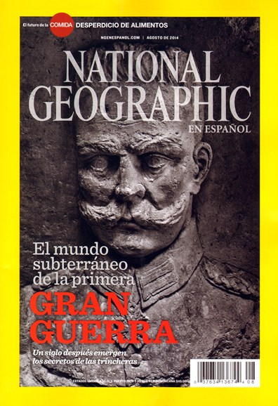 National Geographic En Español Cover - 8/1/2014