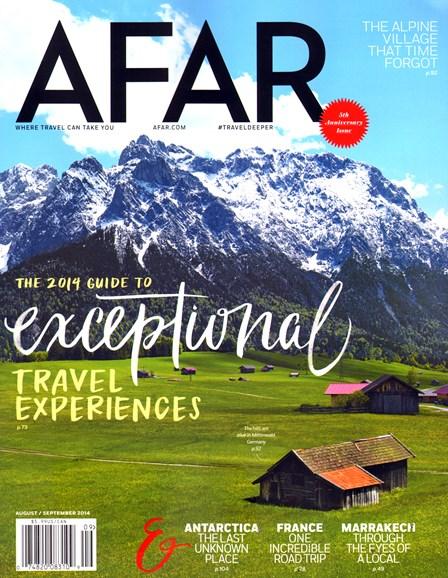 AFAR Cover - 8/1/2014