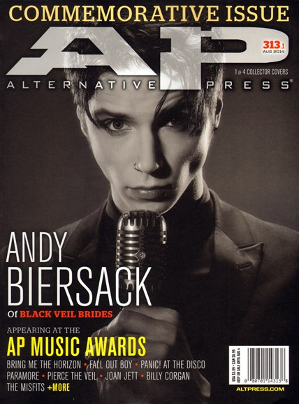 Alternative Press Cover - 8/1/2014