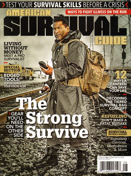 American Survival Guide Cover - 8/1/2014