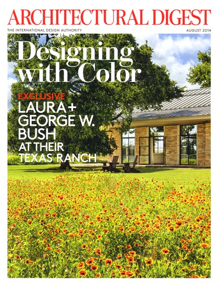 Architectural Digest Cover - 8/1/2014