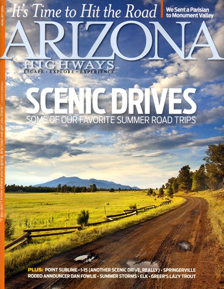 Arizona Highways Cover - 8/1/2014