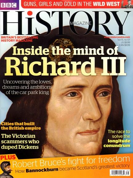 BBC History Cover - 7/1/2014