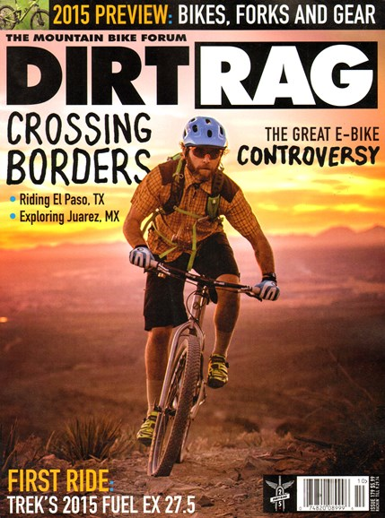 Dirt Rag Cover - 8/15/2014