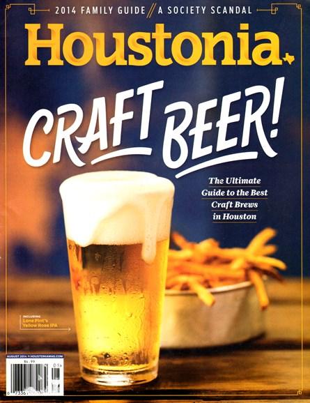 Houstonia Cover - 8/1/2014