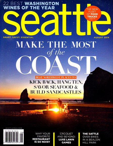 Seattle Magazine Cover - 8/1/2014