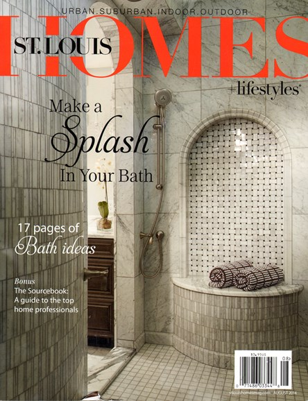 St. Louis Homes & Lifestyles Cover - 8/1/2014