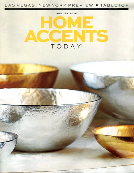 Home Accents Today Cover - 8/1/2014