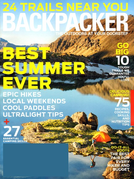 Backpacker Cover - 8/1/2014