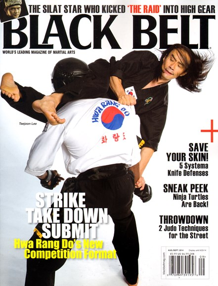 Black Belt Magazine Cover - 8/1/2014