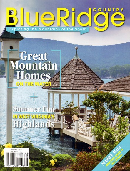 Blue Ridge Country Cover - 8/1/2014
