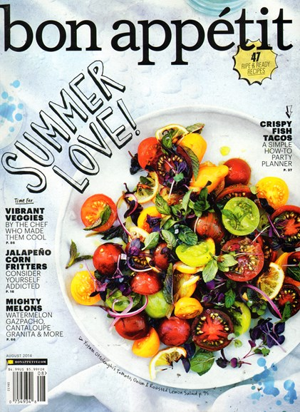 Bon Appétit Cover - 8/1/2014
