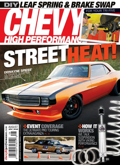 Chevy High Performance Cover - 8/1/2014