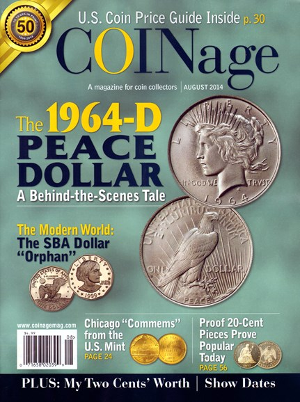 Coinage Cover - 8/1/2014