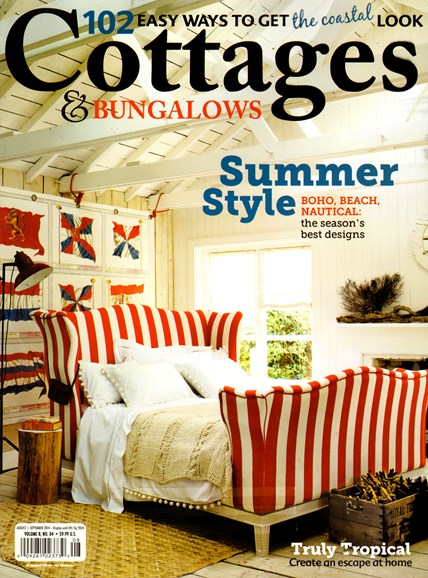 Cottages & Bungalows Cover - 8/1/2014