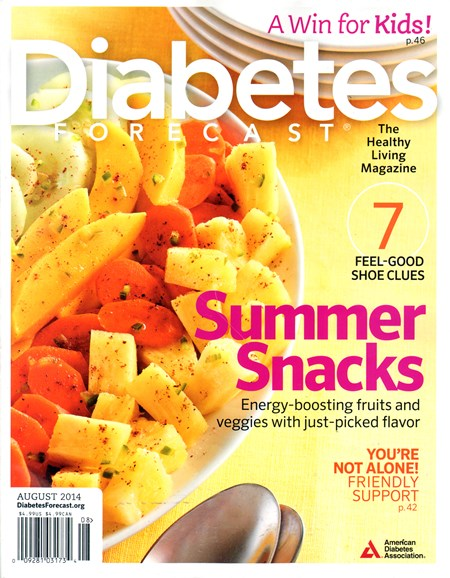 Diabetes Forecast Cover - 8/1/2014