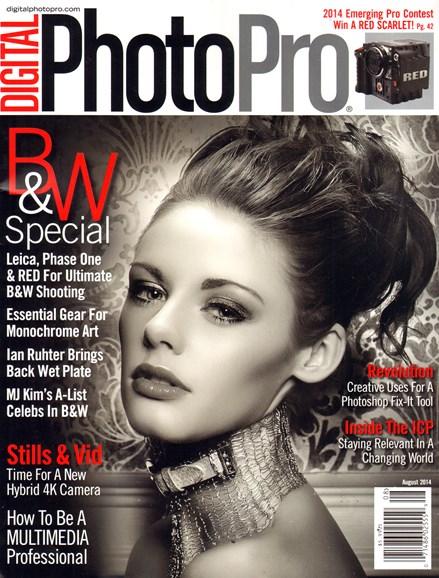 Digital Photo Pro Cover - 8/1/2014