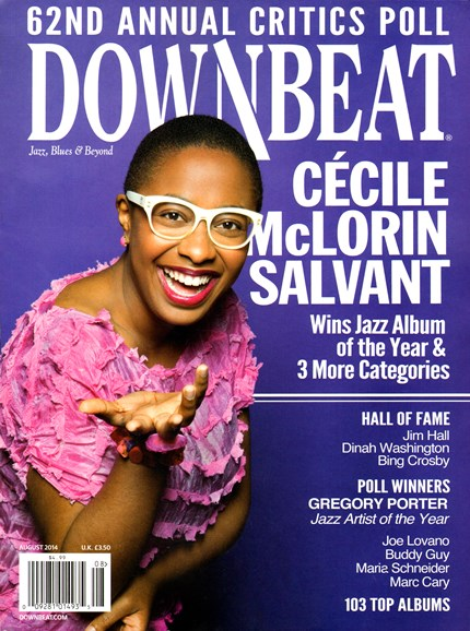 DownBeat Cover - 8/1/2014