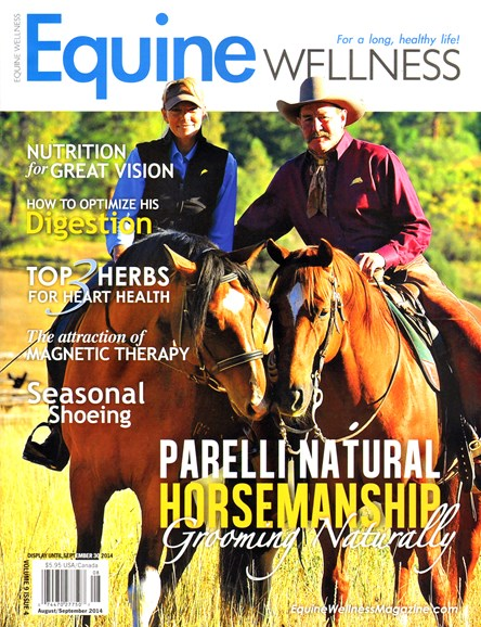 Equine Wellness Cover - 8/1/2014